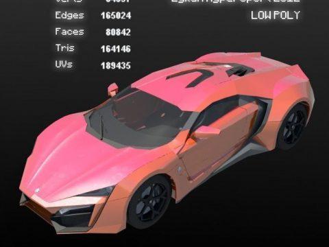W Motors Lykan Hyper Sport 3D model