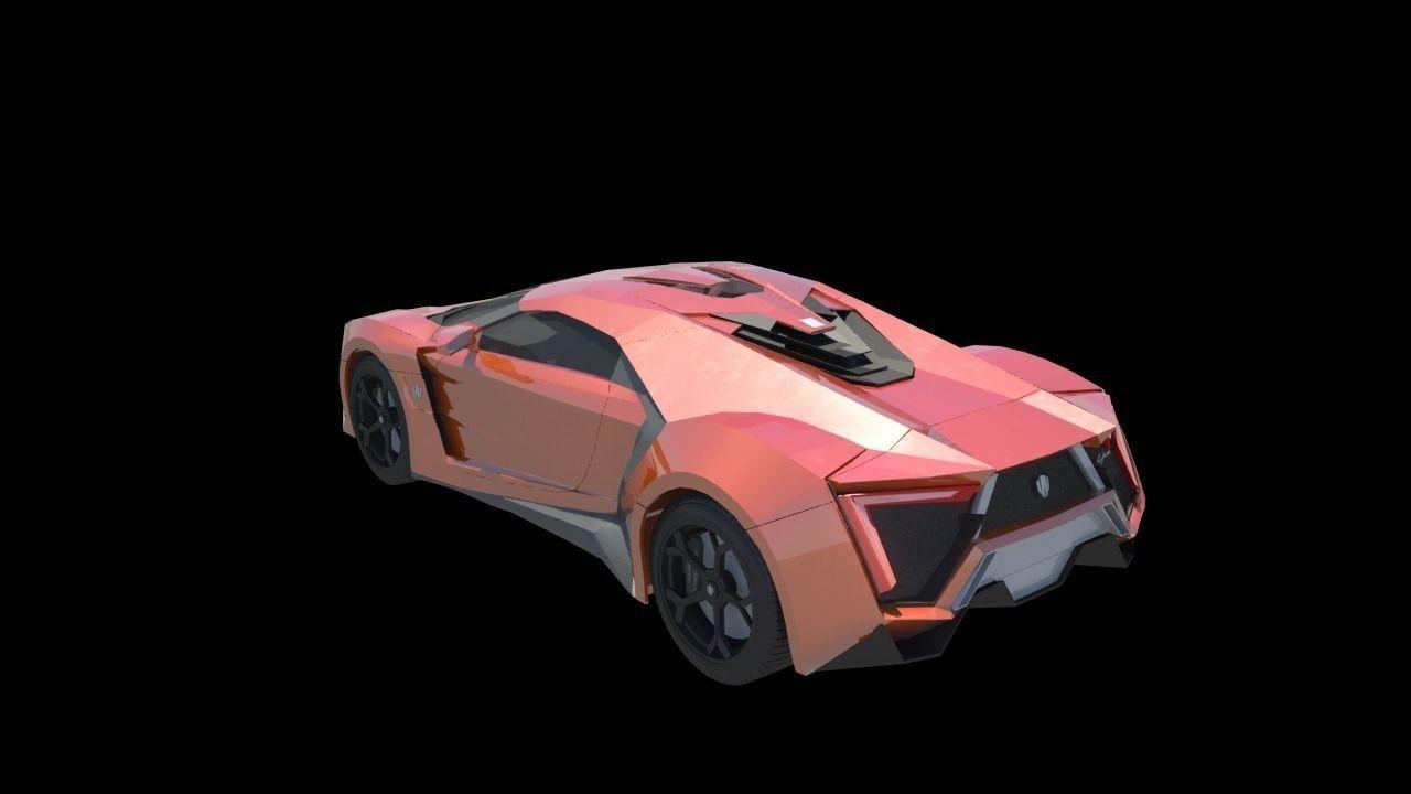 W Motors Lykan Hyper Sport