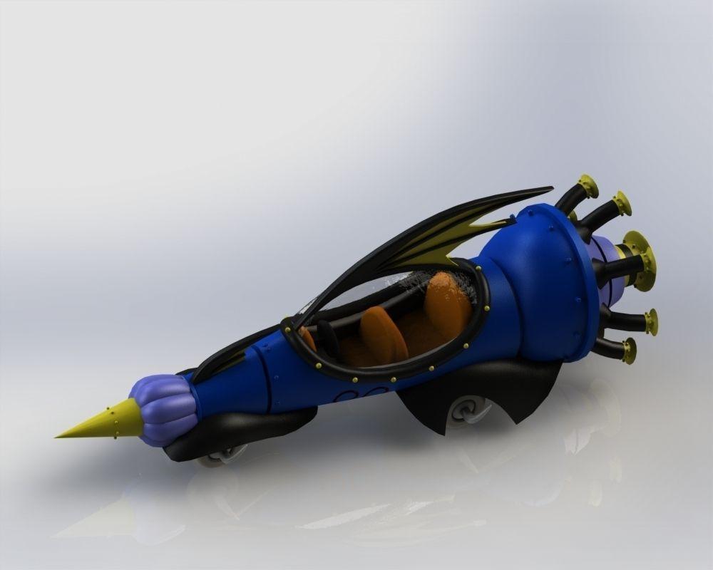 Wacky Races 3D model