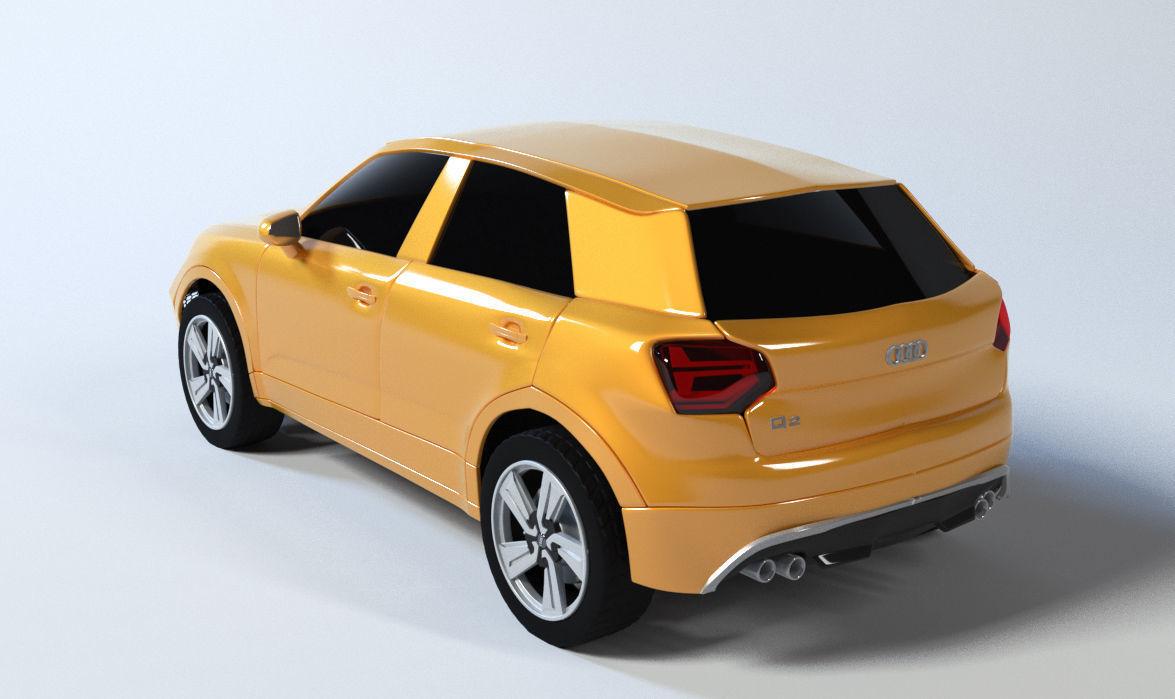 Audi q2 3D model