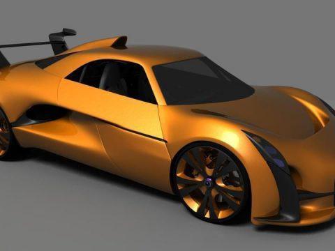Grabster 500R 3D model