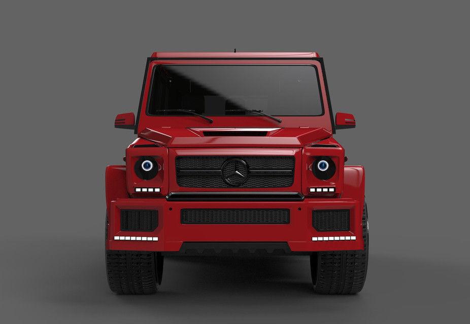 Mercedes G63 Free 3d Models
