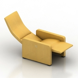 Armchair Cammeo Jori 3d model