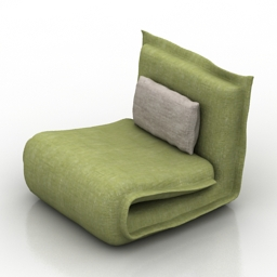 Armchair goa 3d model