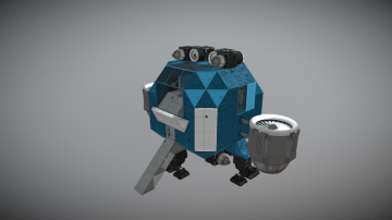Atmospheric Lander Mk 1 3D model