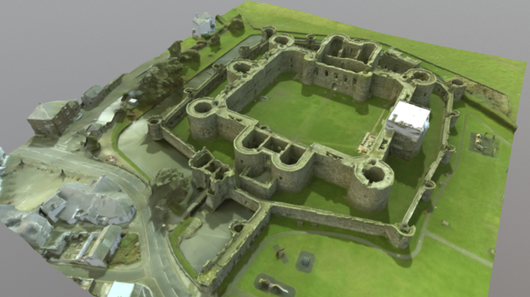 Beaumaris Castle 3D model