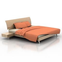 Bed JESSE 3d model