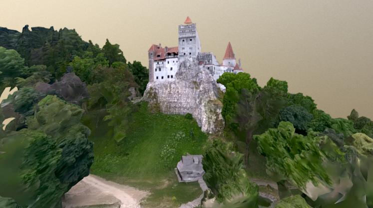 Bran Castle 3D model