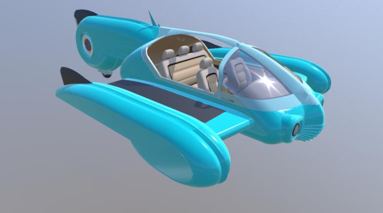 Bruckner Typhoon 3D model