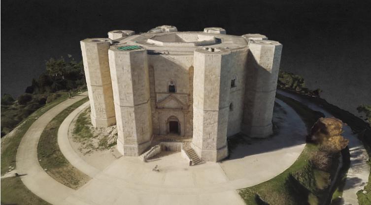 Castel del monte 3D model