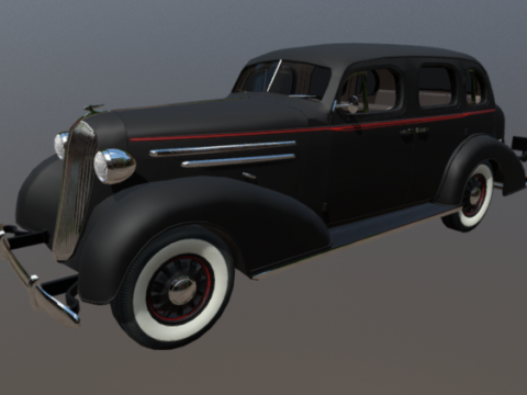 Chevy '36 3D model
