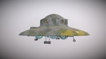 Haunebu 2 3D model