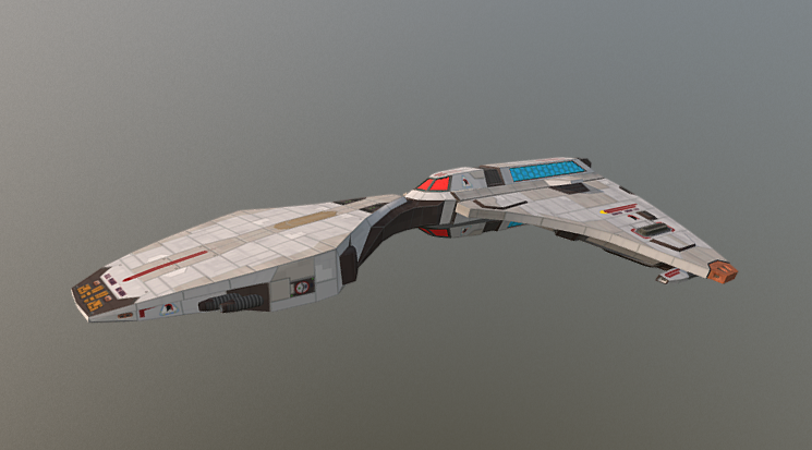 Hektor 3D model