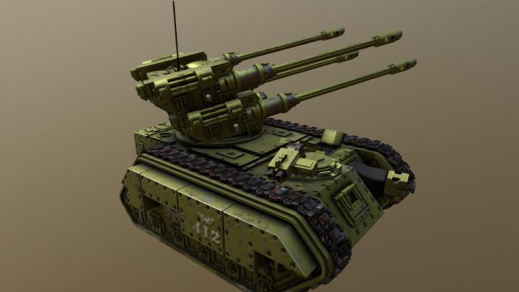Hydra Flak Tank 3D model