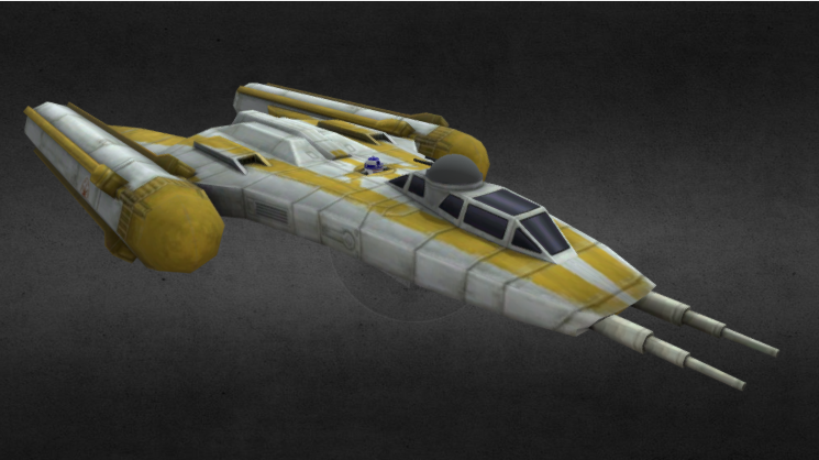 Republic Y- Wing 3D model
