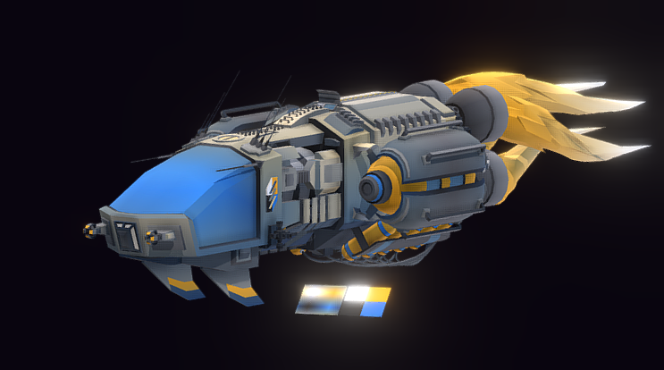 Sabertooth Racecraft 3D model
