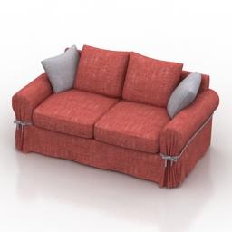 Sofa Bri Pushe 3d model