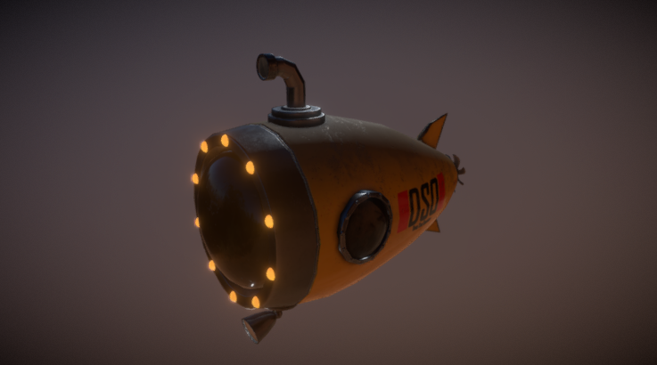 Submarine - Deep Sea Operator 3D model