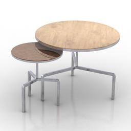 Table Flexform KIDD 3d model