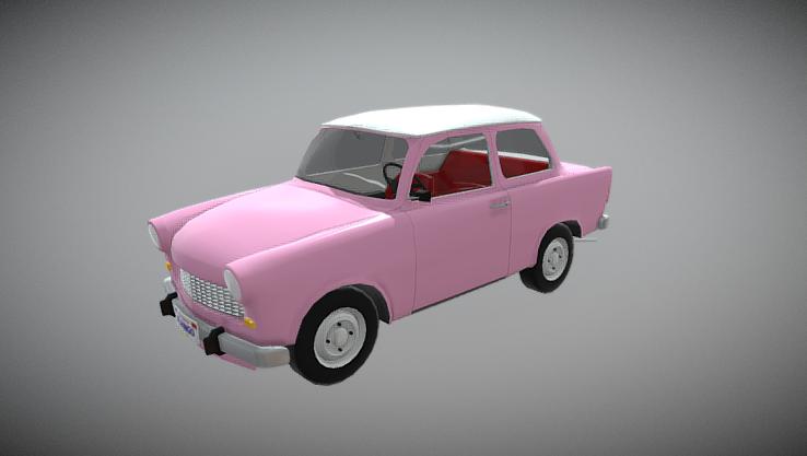Trabant 3D model
