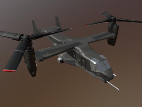 V22 Osprey 3D model