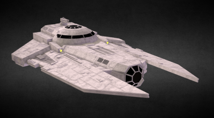 Star Wars: VT-49 Decimator 3D model