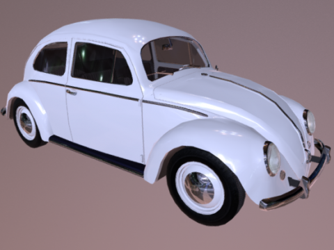VW Beetle 3D model