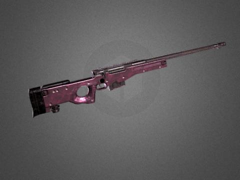 AWM Pink Camo 3D model