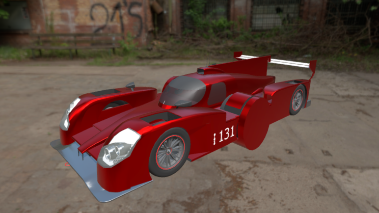 Alexander Xclm 3D model