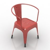 Armchair cafe formdecor 3d model