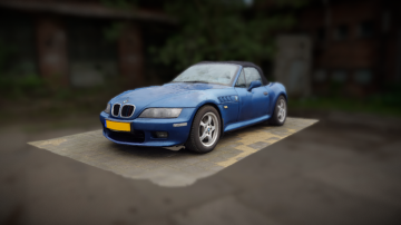 BMW Z3 3D model