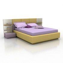 Bed Sicilia 3d model