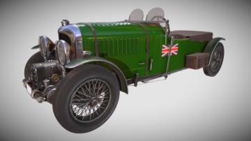 Bentley 4.5 Liter 3D model