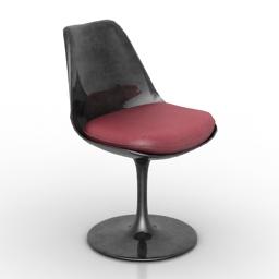 Chair Knoll Tulip 3d model