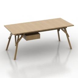 Desk Atelier 3d model download