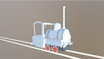 Emma Locomotive 3D model