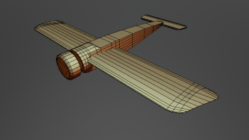 FOKKER E III Base 3D model