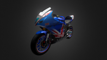 Firehawk GP Competition 3D model