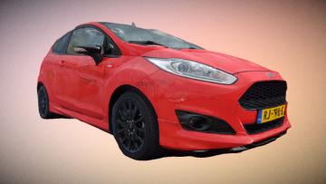 Ford Fiesta 2017 3D model