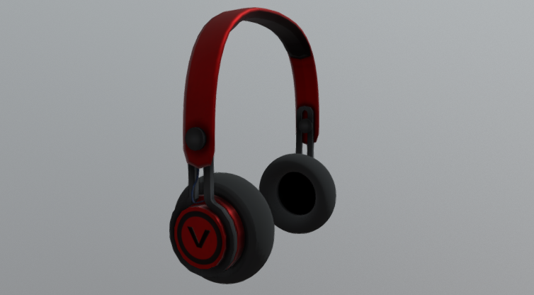 Headphones V 3D model