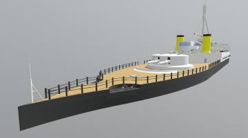 Hms Uig 3D model