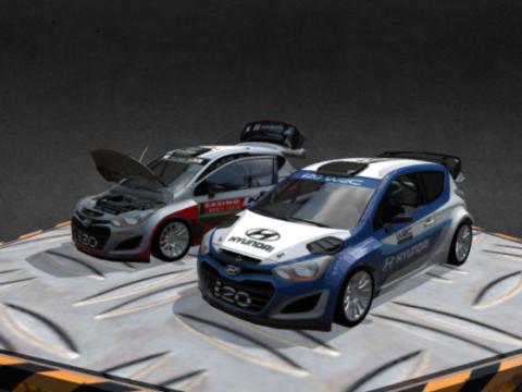 Hyundai I20 3D model