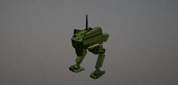 IMODA V 2 Mech 3D model