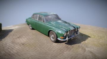 Jaguar 420 3D model