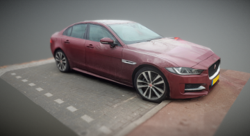 Jaguar XE 2015 3D model