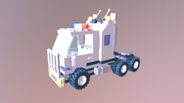 LEGO 6348 Surveillance Squad 3D model
