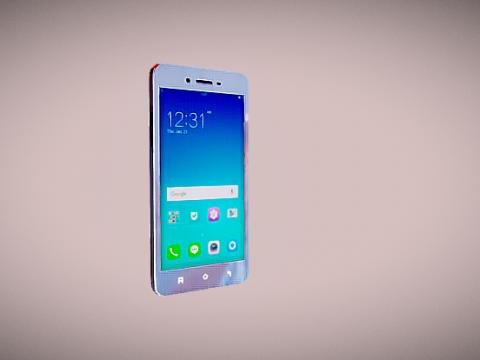 Mobile Phone Oppo 3D model