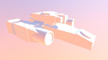 Nostromo 3D model