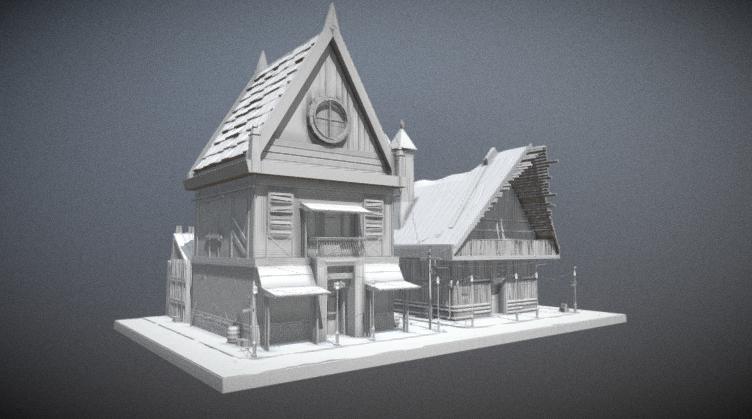 Old House Downloadfree3dcom