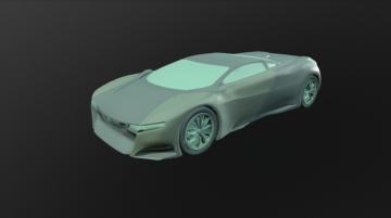 Peugeot Onyx 3D model